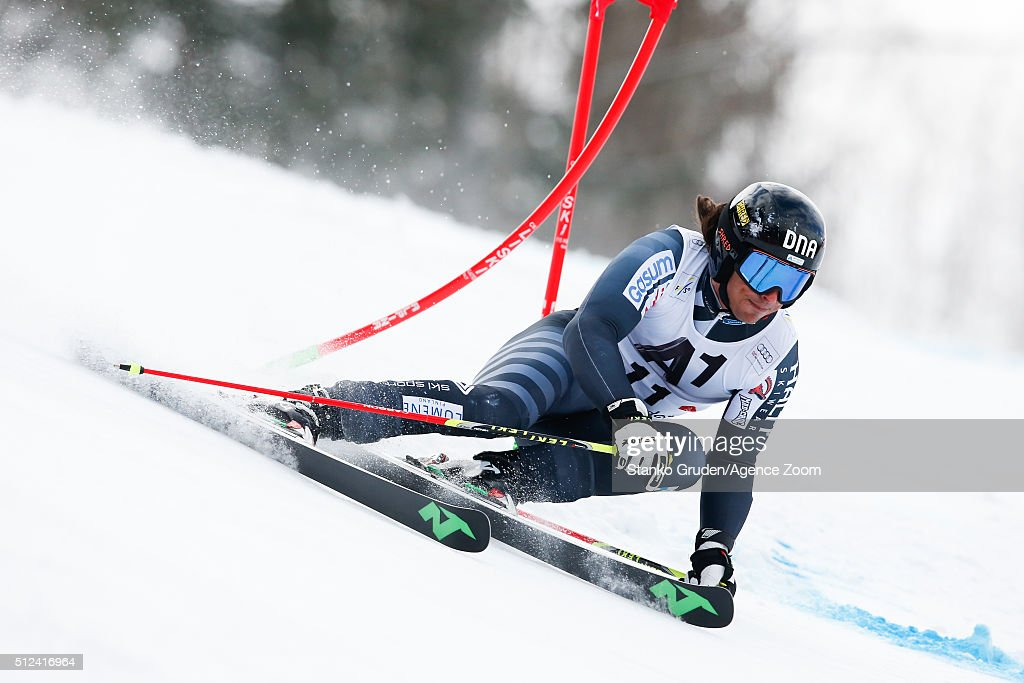 <a gi-track='captionPersonalityLinkClicked' href=/galleries/search?phrase=Marcus+Sandell&family=editorial&specificpeople=4153799 ng-click='$event.stopPropagation()'>Marcus Sandell</a> of Finland competes during the Audi FIS Alpine Ski World Cup Men's Giant Slalom on February 26, 2016 in Hinterstoder, Austria.