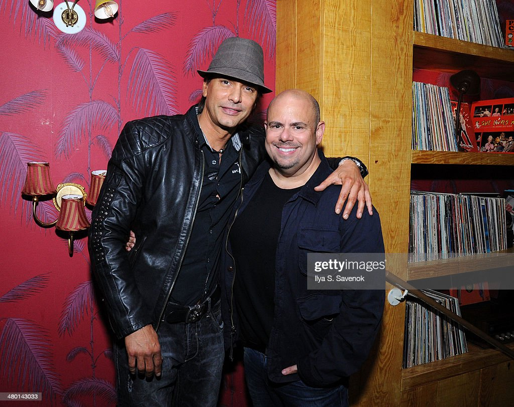 Marcus Schenkenberg and Jason Kanner attend 2nd Supermodel Saturday at No.8 on March 22, 2014 in New York City.