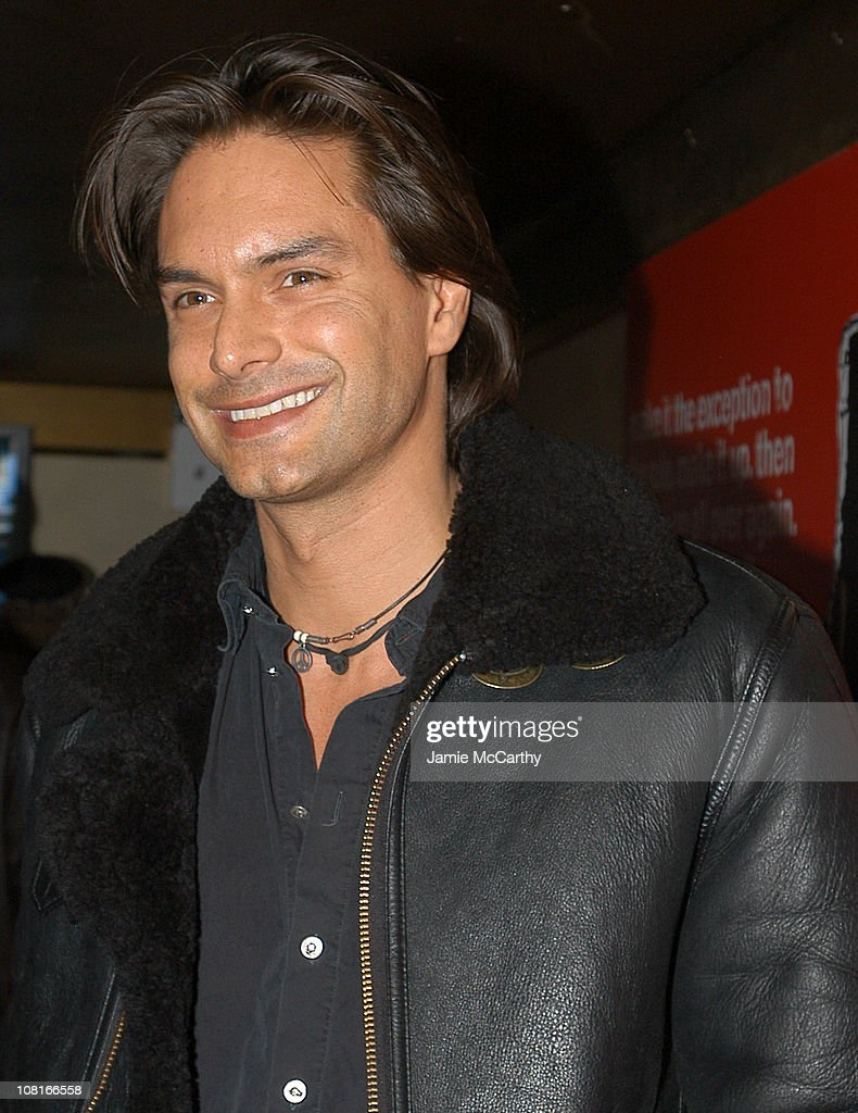 Marcus Schenkenberg during CocaCola Make It Real Launch Party at Marquee in New York City New York United States