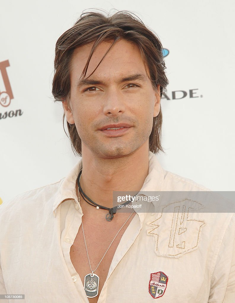Marcus Schenkenberg during Comedy Central Roast of Pamela Anderson Arrivals at Sony Studios / Stage 15 in Culver City California United States