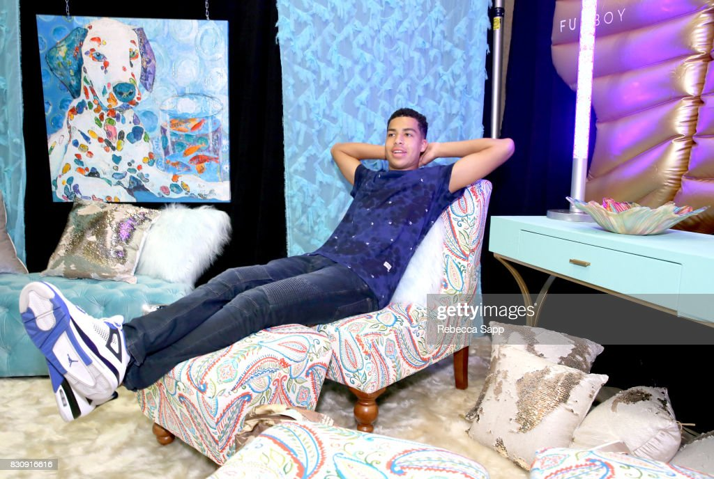 Marcus Scribner at Backstage Creations Celebrity Retreat at Teen Choice 2017 - Day 1 at Galen Center on August 12, 2017 in Los Angeles, California.