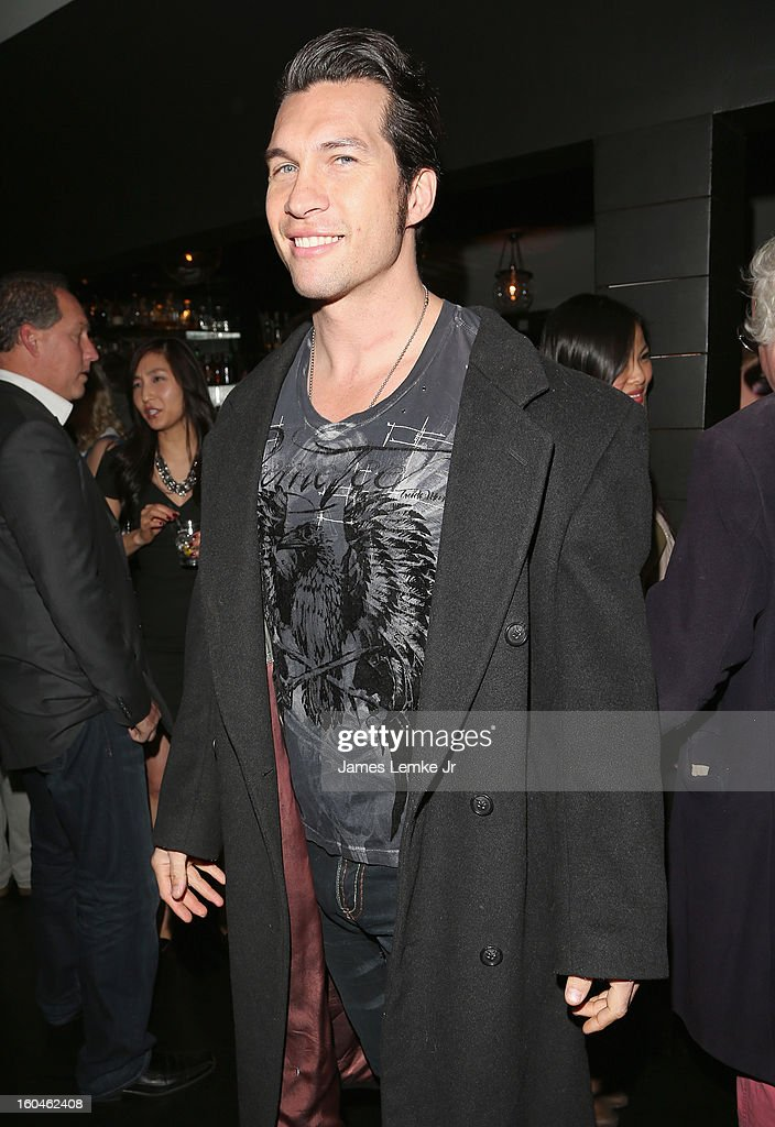 Marcus Shirock attends the 'A Place Called Hollywood' Official Wrap Party held at the Smoke Steakhouse on January 31, 2013 in West Hollywood, California.