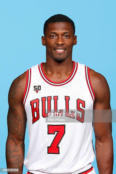 Marcus Simmons of the Chicago Bulls poses for a portrait during Media Day on September 28 2015 at the Advocate Center in Chicago Illinois NOTE TO...