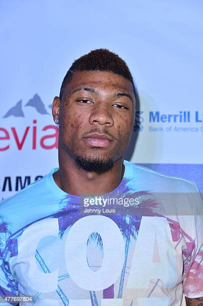 Marcus Smart attends the VIP KickOff Concert during the 11th Annual Irie Weekend at Kimpton Surfcomber Hotel on June 18 2015 in Miami Beach Florida