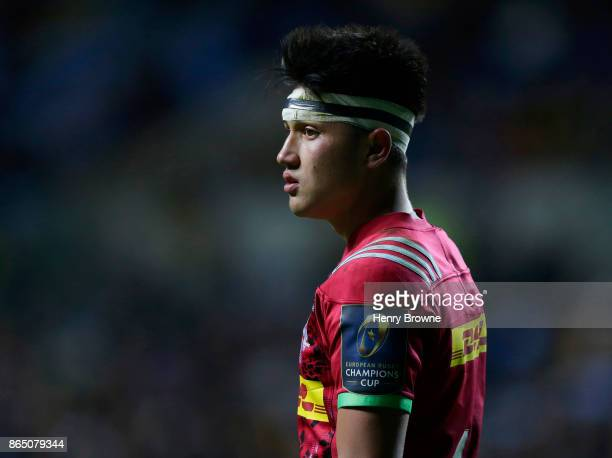 Marcus Smith of Harlequins during the European Rugby Champions Cup match between Wasps and Harlequins at Ricoh Arena on October 22 2017 in Coventry...