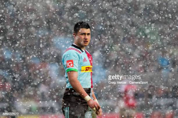 Marcus Smith of Harlequins during the European Rugby Champions Cup match between Harlequins and Ulster Rugby at Twickenham Stoop on December 10 2017...