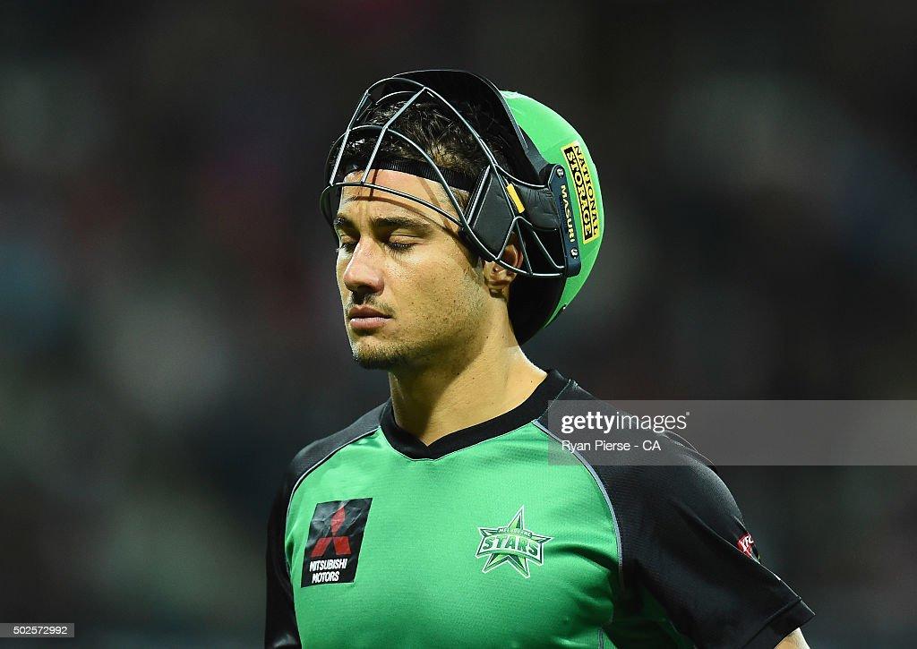 Marcus Stoinis: Big Bash League - Sydney Sixers V Melbourne Stars
