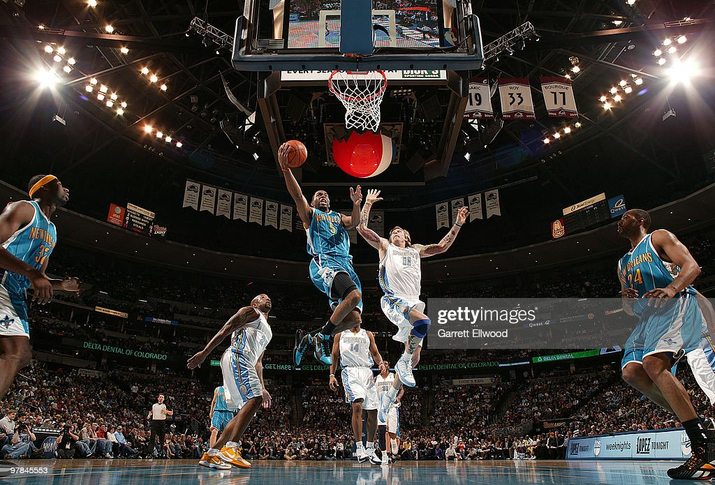 New Orleans Hornets v Denver Nuggets