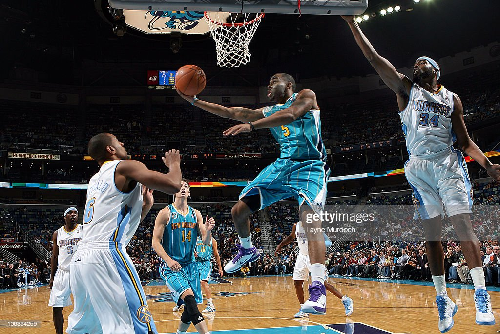 Denver Nuggets v New Orleans Hornets