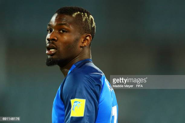 Marcus Thuram of France looks on during the FIFA U20 World Cup Korea Republic 2017 Round of 16 match between France and Italy at Cheonan Baekseok...