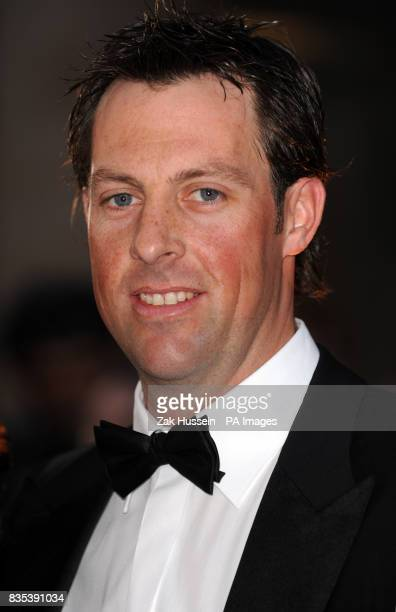 Marcus Trescothick attends the Galaxy British Book Awards 2009 at Grovesnor House Hotel Park Lane London PRESS ASSOCIATION Photo Picture date Friday...