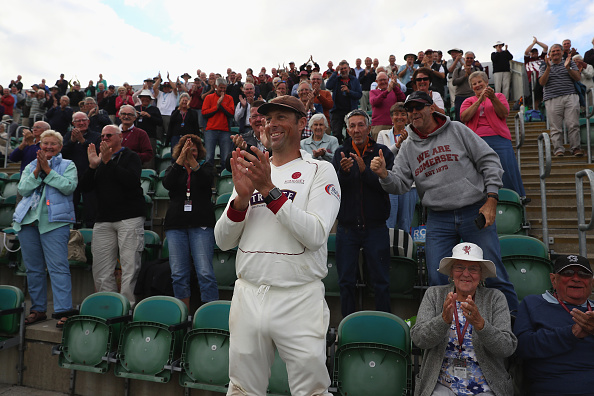 Somerset v Nottinghamshire - Specsavers County Championship: Division One : News Photo
