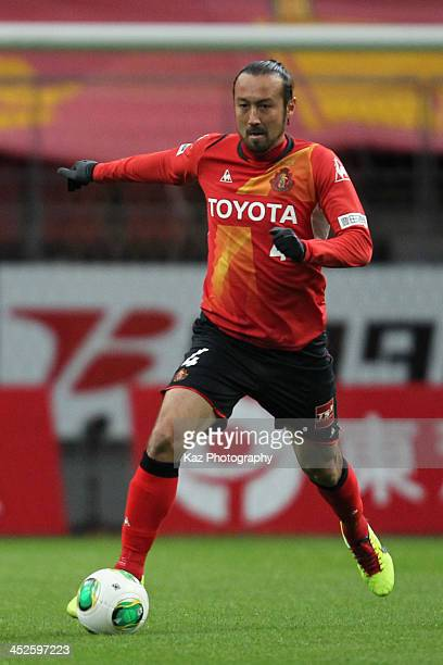 Marcus Tulio Tanaka of Nagoya Grampus in action during the JLeague match between Nagoya Grampus and Ventforet Kofu at Toyota Stadium at Toyota...