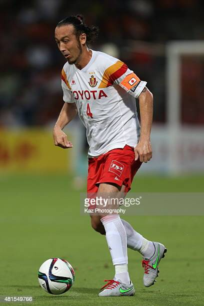 Marcus Tulio Tanaka of Nagoya Grampus in action during the JLeague match between Shimizu SPulse and Nagoya Grampus at IAI Stadium Nihondaira on July...