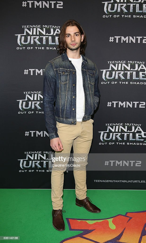 Marcus Vanco arrives ahead of the Australian premiere of Teenage Mutant Ninja Turtles 2 at Event Cinemas George Street on May 29, 2016 in Sydney, Australia.
