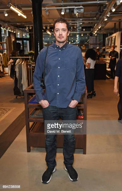 Marcus Wainwright Rag Bone creative director attends the Rag Bone London flagship store opening on June 9 2017 in London England