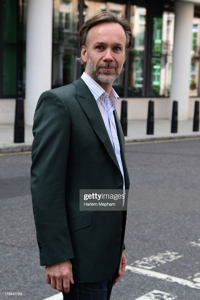 Marcus Wareing sighted at BBC Radio on July 12, 2013 in London, England.
