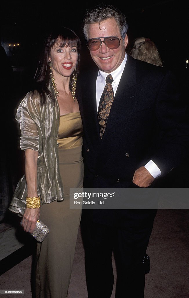 Marcy Lafferty and William Shatner during Benefit Fundraiser for John Gary at Bel Age Hotel in West Hollywood, California, United States.