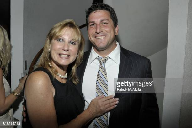 Marcy Lerner and Justin Lerner attend Eric Lerner Frank Cascio Celebrate their birthdays with Host Sean Parker and CoHosts Denise Rich Romero Britto...