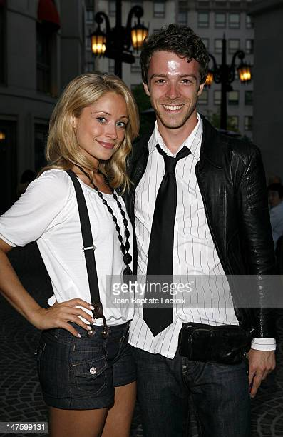 Marcy Rylan and guest during Celebrity Sightings in Hollywood June 16 2007 at West Hollywood in West Hollywood California United States
