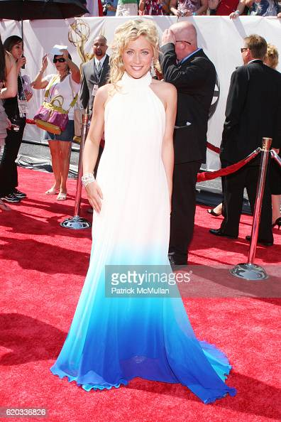 Marcy Rylan attends 2008 Daytime Emmy Awards at Kodak Theatre on June 20 2008 in Hollywood CA