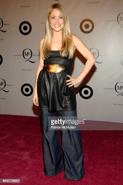 Marcy Rylan attends McQ Alexander McQueen for Target Debuts TARGET McQ MARKET in NYC at St John's Center on February 13 2009 in New York City