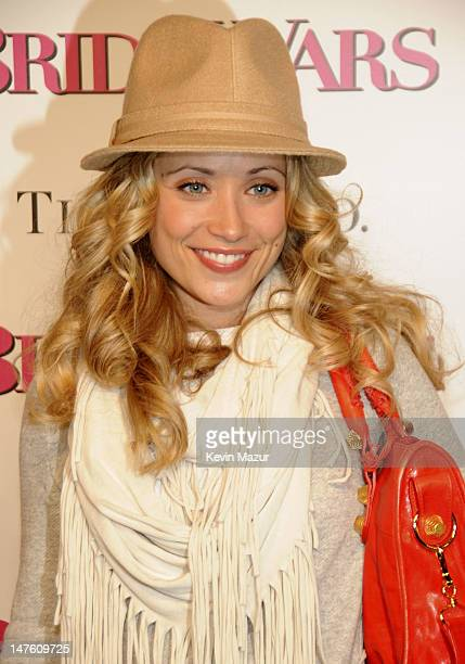 Marcy Rylan attends the premiere of 'Bride Wars' at the AMC Loews Lincoln Square on January 5 2009 in New York City