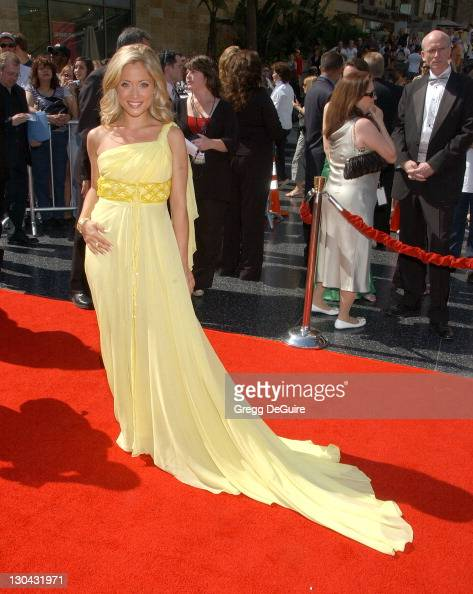 Marcy Rylan during 34th Annual Daytime Emmy Awards Arrivals at Kodak Theater in Hollywood California United States