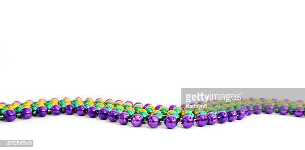 """Mardi Gras"" -Perlenketten"