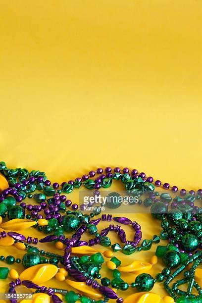 "Mardi Gras"" -Perlenketten"""