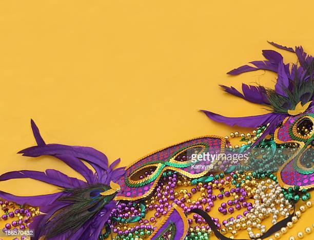 Mardi Gras in Yellow