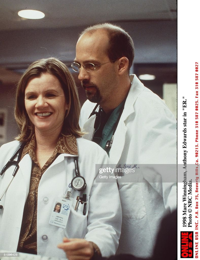 Anthony Edwards Mare Winningham And Anthony Edwards Star In Er Pictures Getty Images
