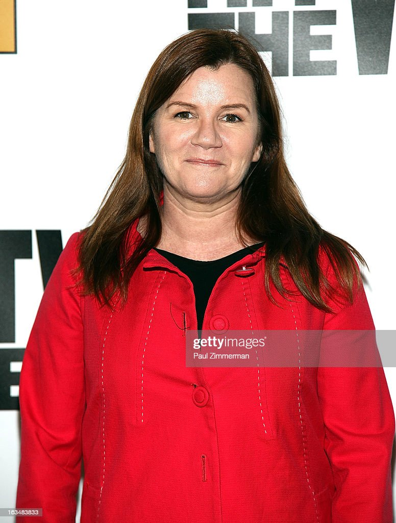 Mare Winningham attends the 'Hit The Wall' Off Broadway opening night at the Barrow Street Theatre on March 10, 2013 in New York City.