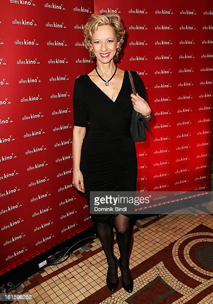 Mareike Carriere attends the Alles KinoDe Lounge during the 63rd Berlinale International Film Festival at the Pauly Saal on February 12 2013 in...