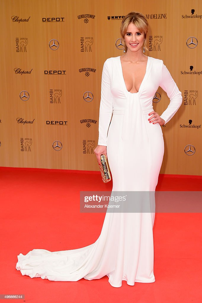 Mareile Hoeppner attends the Bambi Awards 2015 at Stage Theater on November 12, 2015 in Berlin, Germany.