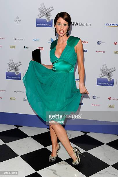Mareile Hoeppner attends the 'Felix Burda Award' at hotel Adlon on April 18 2010 in Berlin Germany