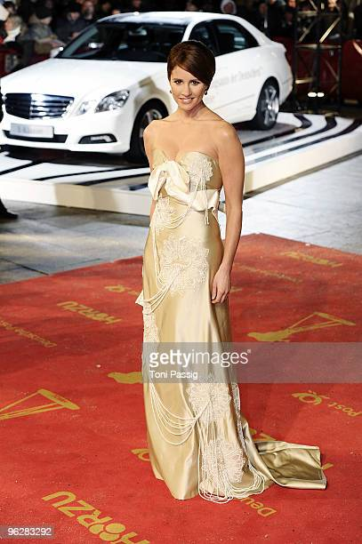 Mareile Hoeppner attends the Goldene Kamera 2010 Award at the Axel Springer Verlag on January 30 2010 in Berlin Germany