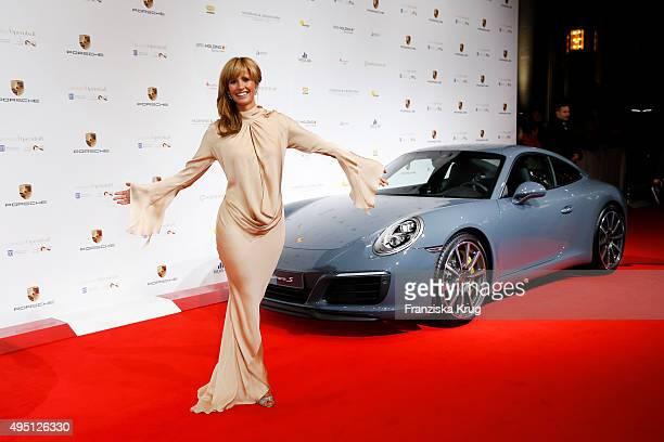 Mareile Hoeppner attends the Leipzig Opera Ball 2015 on October 31 2015 in Leipzig Germany