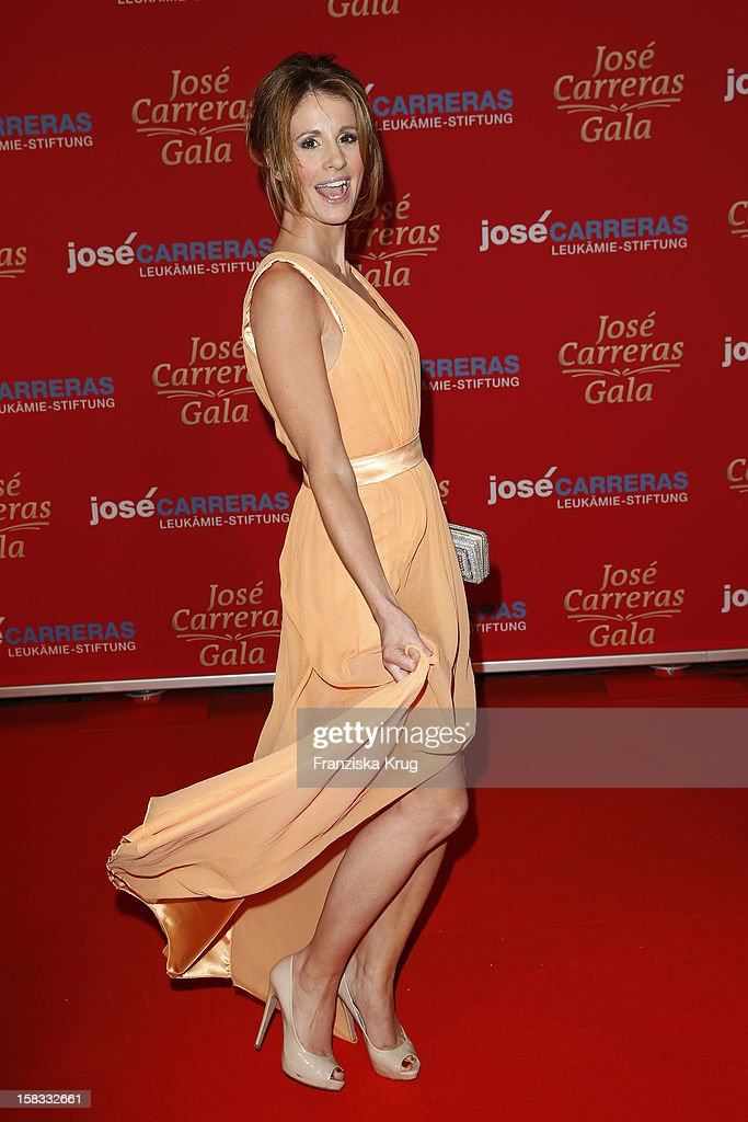 Mareille Hoeppner attends the 18th Annual Jose Carreras Gala on December 13 2012 in Leipzig Germany