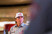 Marek Dabrowski attends the ORLEN Team press conference on November 30 2015 in Warsaw Poland ORLEN Team will be taking part in the 2016 Dakar Rally