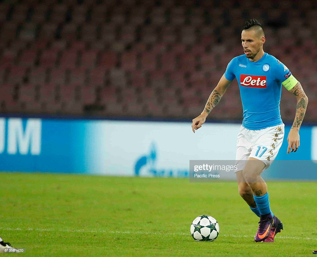 Marek Hamsik during the Champions League Group soccer