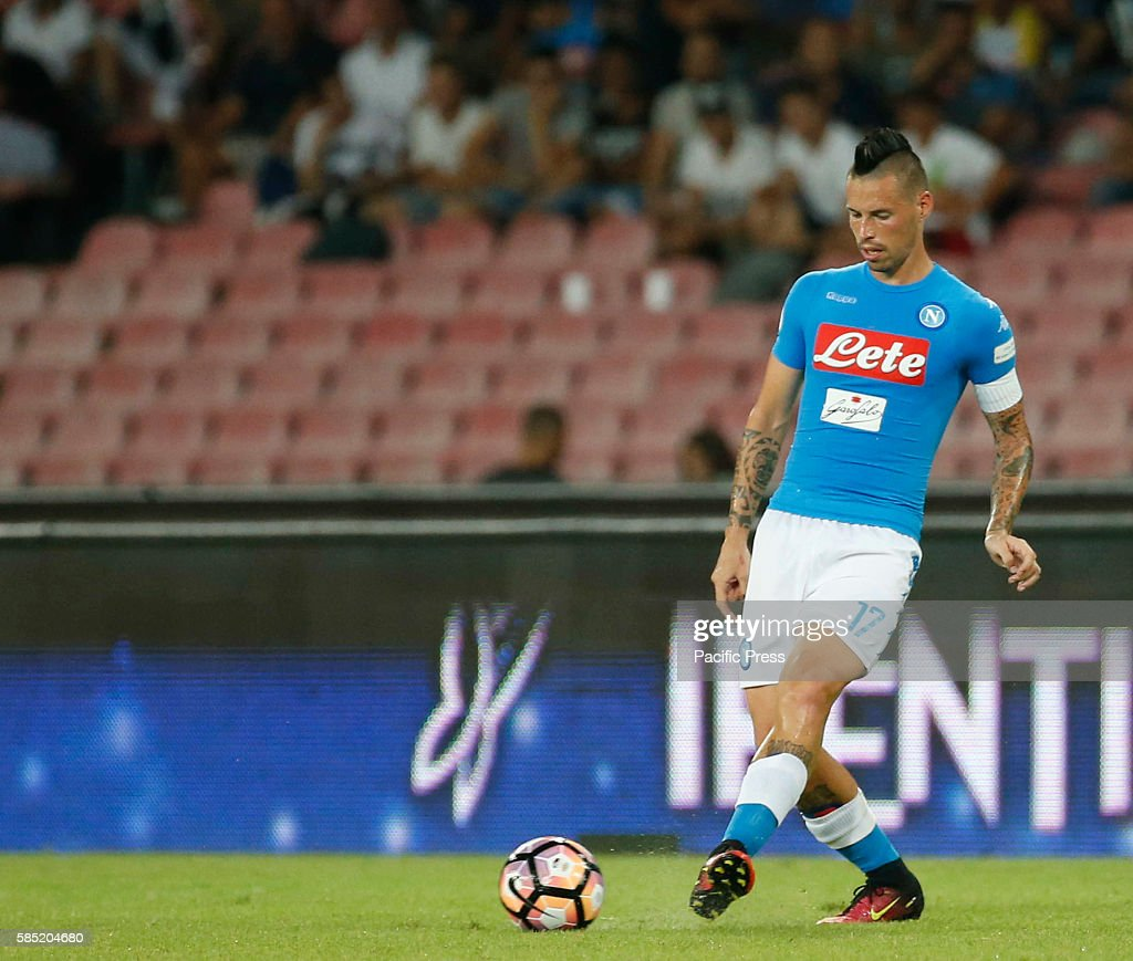 Marek Hamsik during the friendly soccer match between SSC