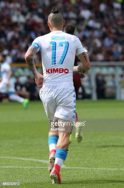 Marek Hamsik during the Serie A football match between Torino FC and SSC Napoli at Olympic stadium Grande Torino on may 14 2017 in Turin Italy Final...