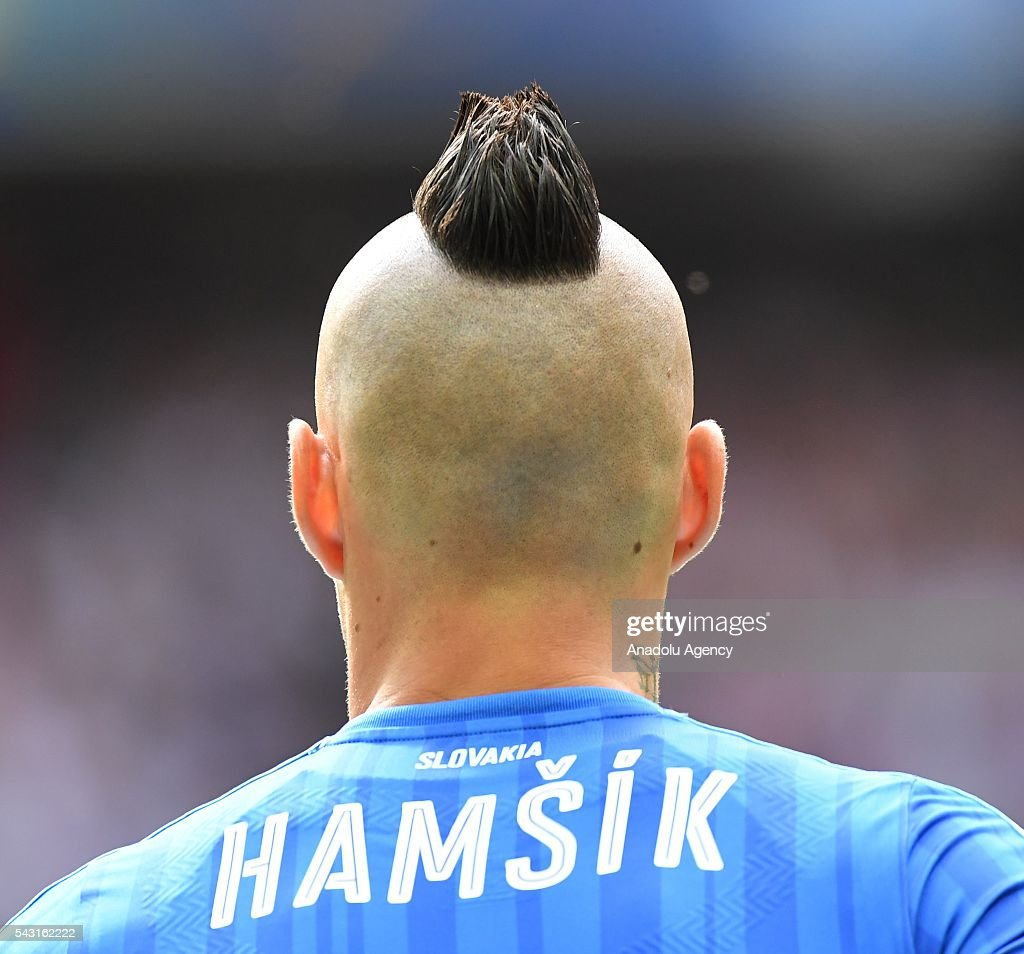 Marek Hamsik of Slovakia is seen during the UEFA Euro 2016 round of 16 football match between Germany and Slovakia at Stade Pierre Mauroy in Lille, France on June 26, 2016.