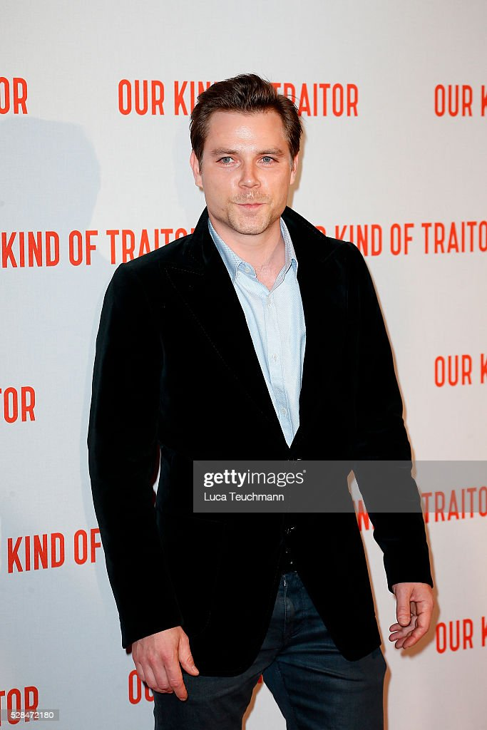 Marek Oravec arrives for the UK Gala of 'Our Kind Of Traitor' at The Curzon Mayfair on May 5, 2016 in London, England.