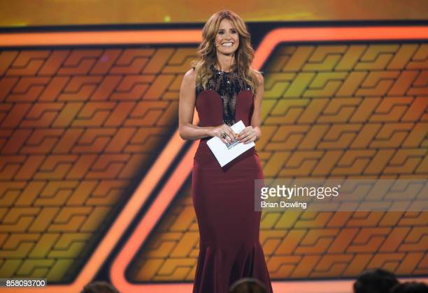 Marelle Hoeppner hosts the Tribute To Bambi show at Station on October 5 2017 in Berlin Germany
