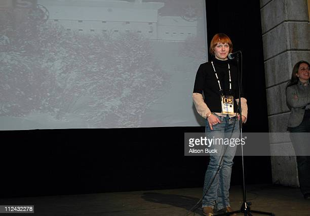 Maren Ade director of 'The Forest for the Trees' during 2005 Sundance Film Festival 'Der Wald vor lauter BAeumen' Premiere at Egyptian Theatre in...
