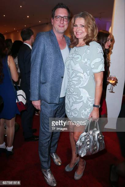 Maren Gilzer and Thorsten Lenkheit attend the premiere of the Mary Poppins musical at Stage Apollo Theater on October 23 2016 in Stuttgart Germany