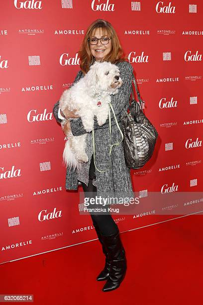 Maren Gilzer attends the 'Gala' fashion brunch during the MercedesBenz Fashion Week Berlin A/W 2017 at Ellington Hotel on January 19 2017 in Berlin...