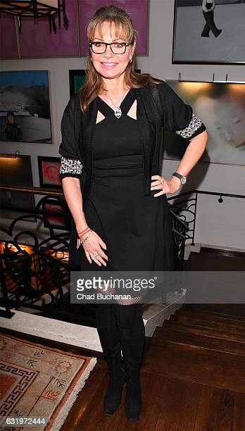 Maren Gilzer attends the Thomas Sabo Press Cocktail during the MercedesBenz Fashion Week Berlin A/W 2017 at China Club on January 18 2017 in Berlin...